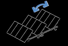 Shematski prikaz enoosnega sledenja
