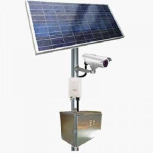 Sončna elektrarna za napajanje video kamere