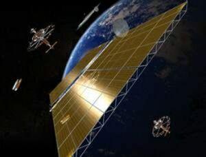 Sončna elektrarna v vesolju