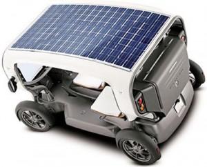 Sončna elektrarna na vozilu