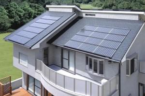 Sončna elektrarna na strehi