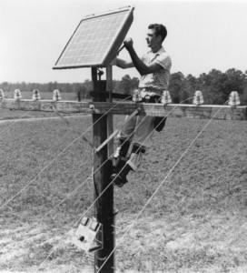 Prva komercialna uporaba sončne celice