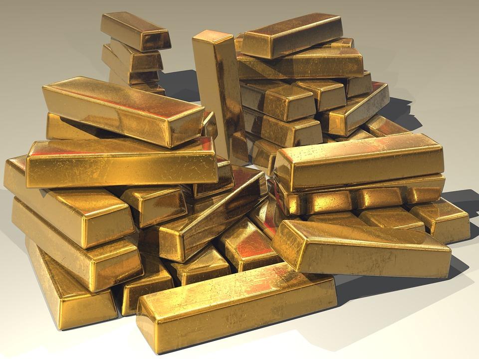 zlate naložbene palice